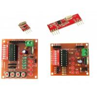 RF 433Mhz RX TX Encoder Decoder board [HT12E & HT12D IC]