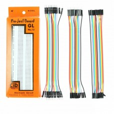 840 Points bread board + 60 Pieces Jumper Wires Set