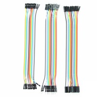 Dupont Jumper Wires Male to Male, male to female, female to female, 60 Pieces