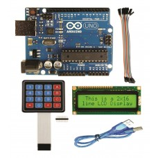 Arduino UNO Kit for Robotics and Embedded Systems Projects