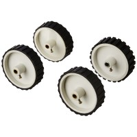 White Tyre / Wheel 7x2 inch for Robotics , DIY,  Dc Gear Motor, Robowar [ 4 Pieces ]