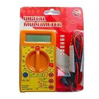 DT830D Digital Multimeter LCD Ac Dc Measuring Voltage Current