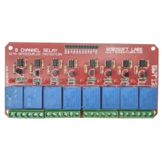 8 Channel +12V OPTOCOUPLER BASED Relay Board Module for ALL MICROCONTROLLER