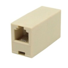10 pcs x Telephone Coupler/Jointer - RJ11 Socket to RJ11 Socket