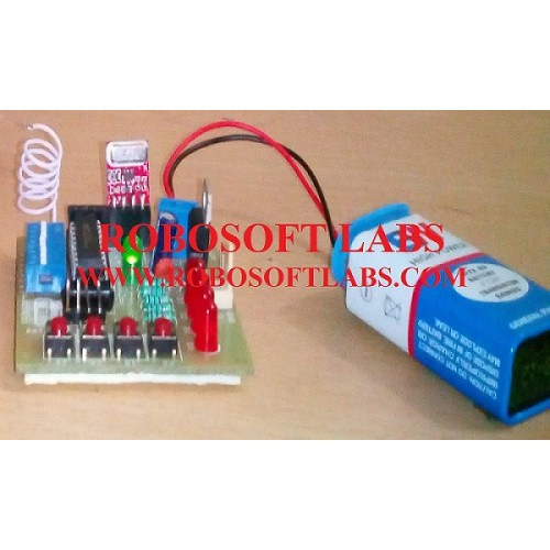 Rf controlled wireless robot diy do it yourself project kit solutioingenieria Gallery