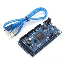 SAM3X8E ARM Cortex M3 CPU Arduino Compatible DUE R3 32 Bit ARM With FREE USB Cable