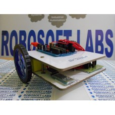 Laptop / Bluetooth Controlled Wireless Robot