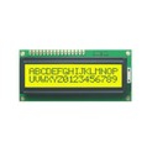 16x2 Character LCD based on HD44870 for Arduino, AVR, PIC, 8051