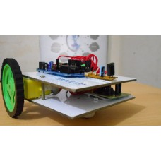 IR ( INFRARED ) Remote Controlled Wireless Robot