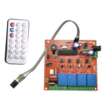 IR 5 Channel (4 Lights +1 FAN Speed/Dimmer) Remote Control Based Wireless Home Automation