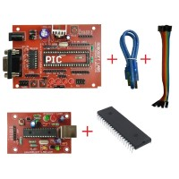 PIC 40PIN Development Board Mini with 16F877A , Max232 and PROGRAMMER