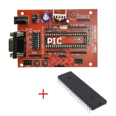 PIC 40PIN Development Board Mini with 16F877A and Max232 IC