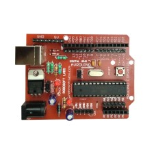 28 PIN AVR's ATMEGA8 Development Board (With ATMEGA8 Microcontroller) (Self Programmable))