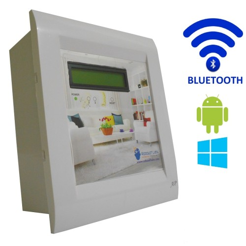 android windows bluetooth based smart home automation 2 device support 15 ampere lcd display. Black Bedroom Furniture Sets. Home Design Ideas