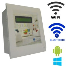 Android / Windows / WIFI / BLUETOOTH Based Smart Home Automation (2 devices) 15 Ampere LCD Display
