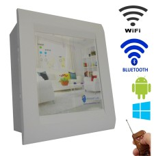 Android / Windows / WIFI / BLUETOOTH / REMOTE Based Smart Home Automation (2 devices) 15 Ampere LED DISPLAY