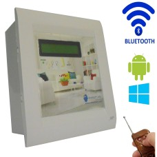 Android / Windows / BLUETOOTH / REMOTE Based Smart Home Automation (2 devices) 15 Ampere LCD Display