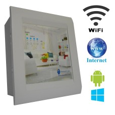 Android  WIFI / INTERNET Based Home Automation (4 device support) LED Display