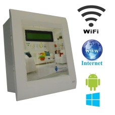 Android / Windows / WIFI / INTERNET Based Home Automation (4 device support) LCD Display