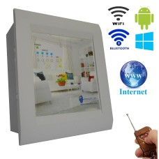 Android / Windows / WIFI / INTERNET / BLUETOOTH/REMOTE Based Home Automation (4 devices) LED DISPLAY