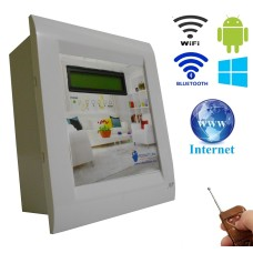 Android / Windows / WIFI / INTERNET / BLUETOOTH/REMOTE Based Home Automation (4 devices) LCD DISPLAY