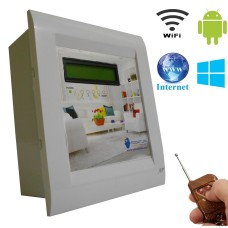 Android / Windows / WIFI / INTERNET / REMOTE Based Home Automation (4 devices) LCD DISPLAY