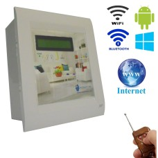 Android / Windows / WIFI / INTERNET / BLUETOOTH/REMOTE Based Smart Home Automation (2 devices) 15 Ampere LCD DISPLAY