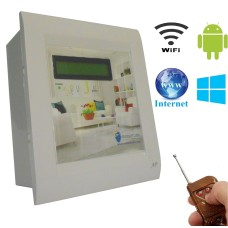 Android / Windows / WIFI / INTERNET / REMOTE Based Smart Home Automation (2 devices) 15 Ampere LCD DISPLAY