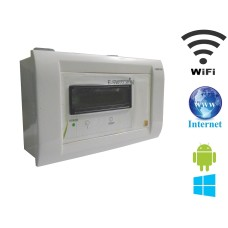 Android / Windows / WIFI / INTERNET Based Smart Home Automation (1 device support) 15 Ampere LCD Display