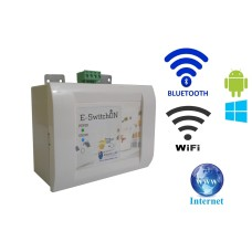 Android / Windows / WIFI / INTERNET / BLUETOOTH Based Smart Home Automation (1 devices) 15 Ampere LED Display