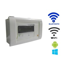 Android / Windows / WIFI / BLUETOOTH Based Smart Home Automation (1 devices) 15 Ampere LCD Display
