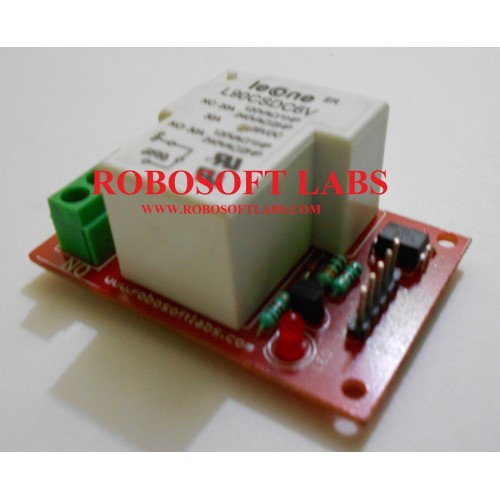 30A +12V Relay Board Module With optocoupler For 8051 PIC