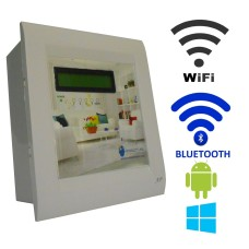 Android / Windows / WIFI / BLUETOOTH Based Home Automation (4 devices) LCD Display