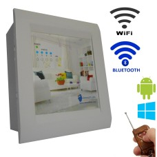 Android / Windows / WIFI / BLUETOOTH / REMOTE Based Home Automation (4 devices) LED DISPLAY