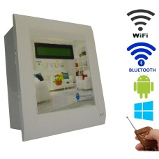 Android / Windows / WIFI / BLUETOOTH / REMOTE Based Home Automation (4 devices) LCD DISPLAY