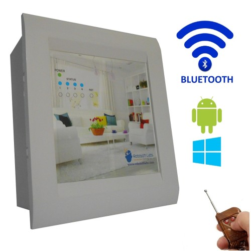 Android windows bluetooth remote based home for Home automation basics