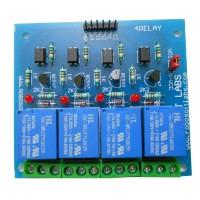 4 Channel +5V/6V OPTOCOUPLER BASED Relay Board Module for ALL MICROCONTROLLER