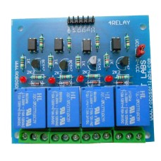 4 Channel +5V/6V OPTOCOUPLER BASED Relay Board Module for ALL MICROCONTROLLER